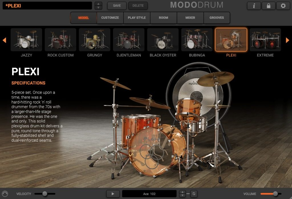 modo drum model ik multimedia