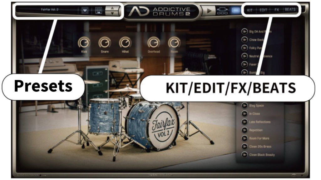addictive-drums-2 kit presets